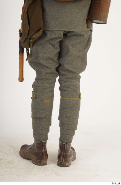 and more Leg Man White Army Average Costume photo references