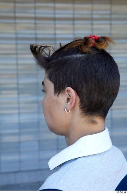 Head Hair Woman White Slim Street photo references
