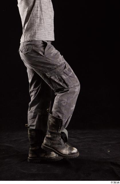 Leg Man White Shoes Trousers Muscular Studio photo references