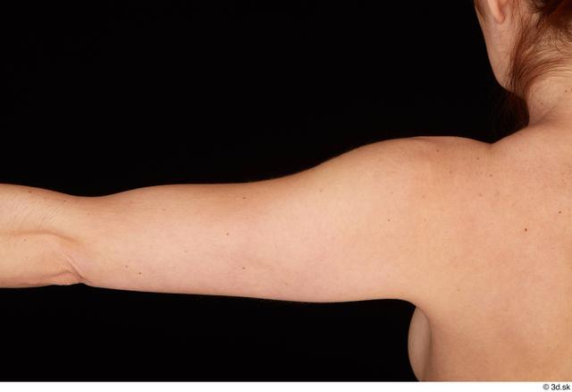 Arm Woman White Nude Pregnant Studio photo references