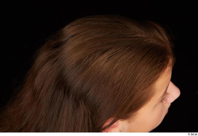 Hair Woman White Average Studio photo references