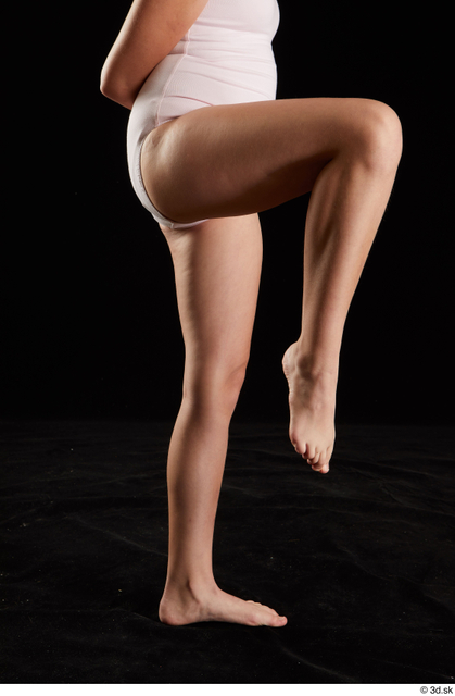 Leg Woman White Nude Average Studio photo references