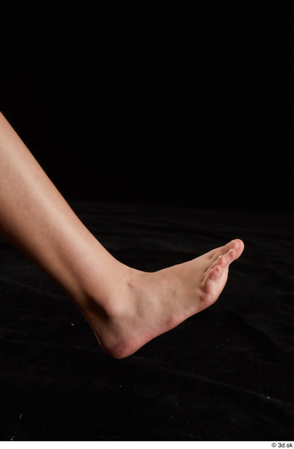 Foot Woman White Nude Average Studio photo references