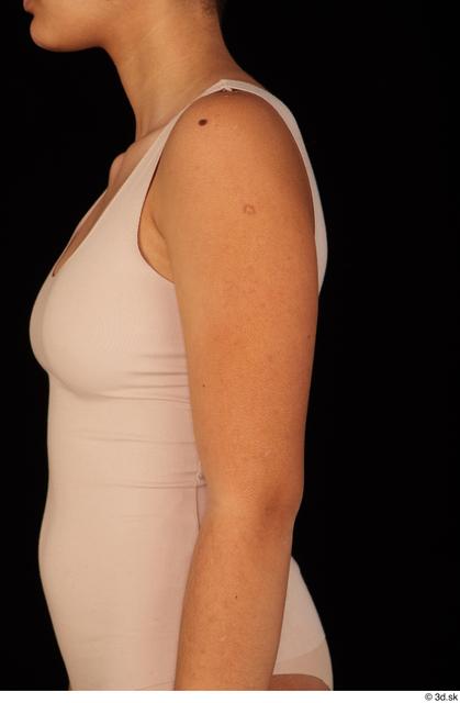 Arm Woman Black Nude Average Studio photo references