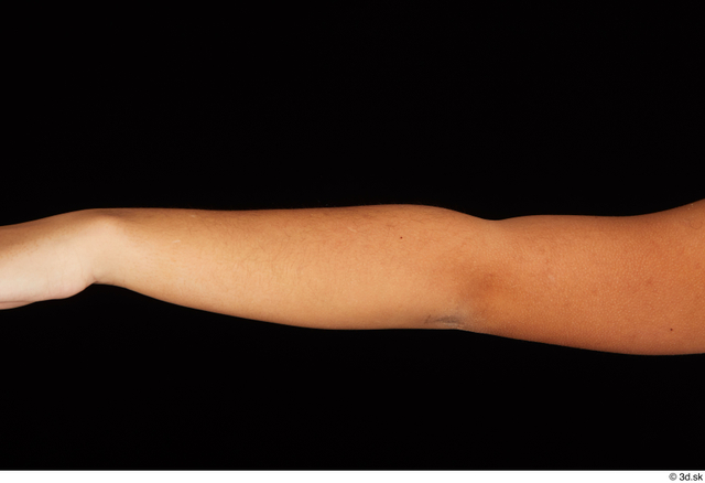 Forearm Woman Black Nude Average Studio photo references