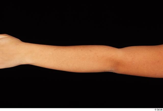 Forearm Woman Black Nude Average Studio photo references
