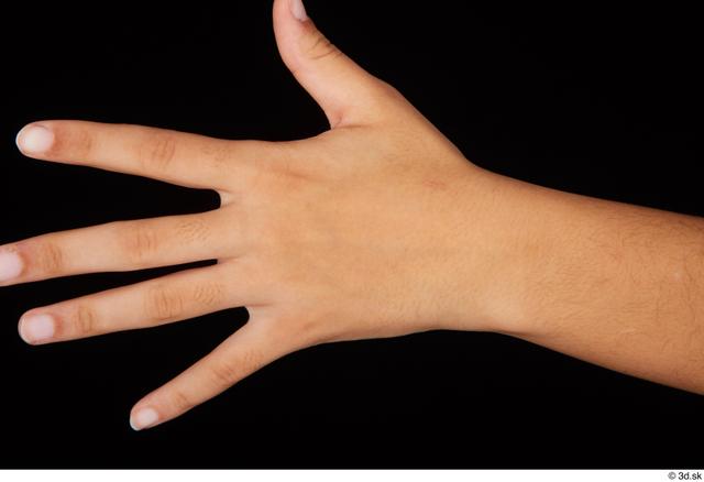 Hand Woman Black Nude Average Studio photo references