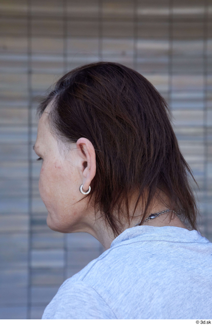 Head Hair Woman White Casual Average Street photo references