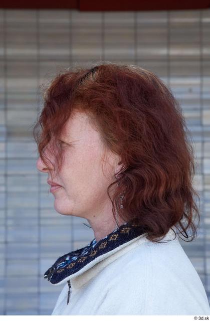 Head Woman White Sports Average Street photo references