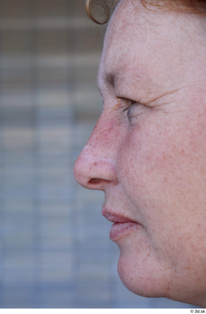 Nose Woman White Sports Average Street photo references
