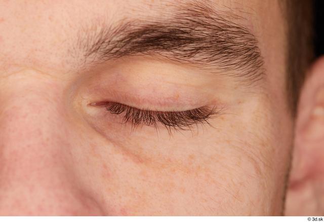 Eye Man White Athletic Studio photo references