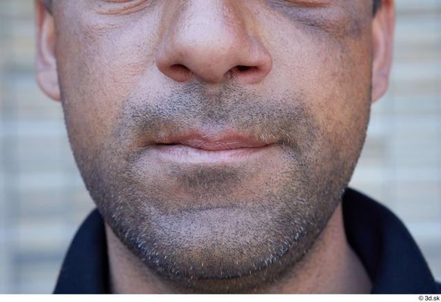 Mouth Man White Sports Average Street photo references