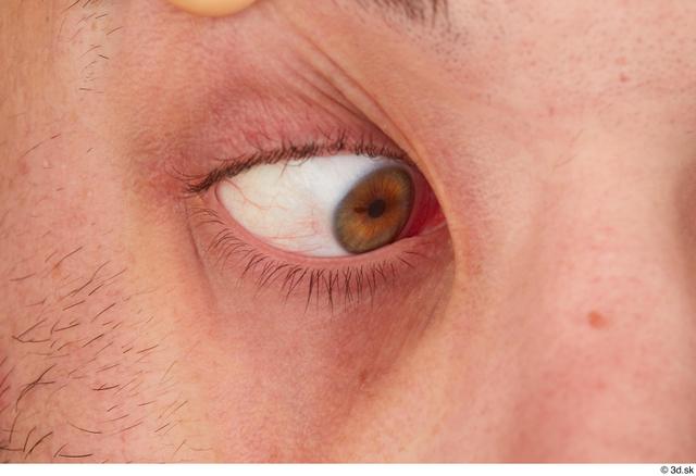Eye Man White Slim Studio photo references