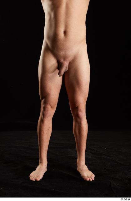 Hips Man White Nude Slim Studio photo references