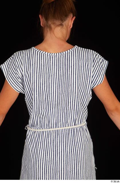Upper Body Woman Casual Dress Slim Studio photo references
