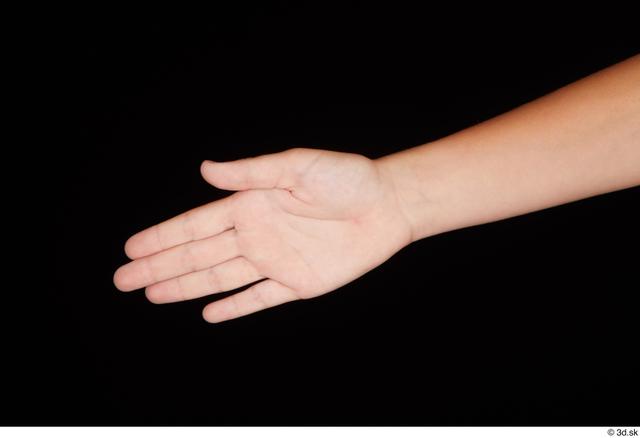 Hand Woman White Nude Slim Studio photo references
