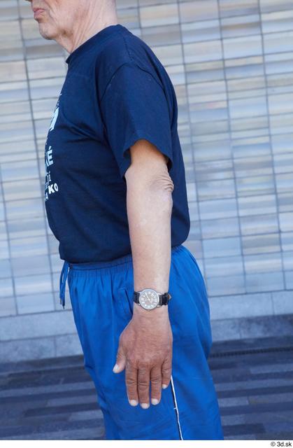 Arm Upper Body Man White Sports Slim Street photo references