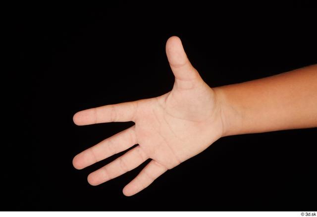 Hand Woman White Nude Average Studio photo references