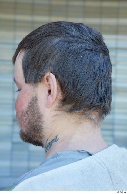 Head Hair Man White Average Street photo references