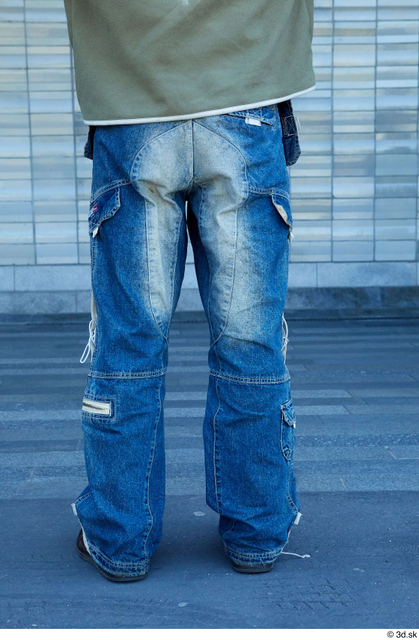 Leg Man White Average Street photo references
