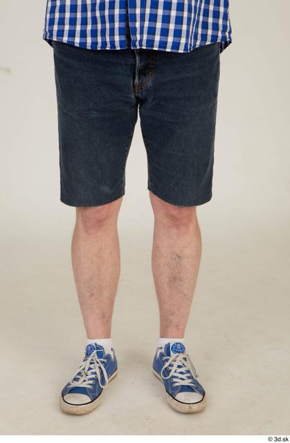 Leg Man White Casual Average Street photo references