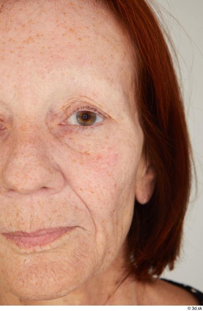 Eye Woman White Casual Slim Street photo references