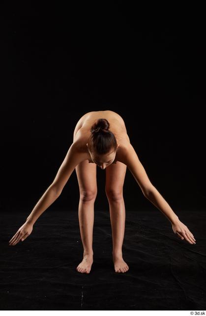 Upper Body Whole Body Woman White Nude Slim Studio photo references