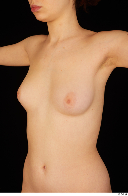 Chest Breast Woman White Nude Average Studio photo references