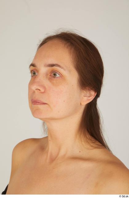 Head Woman White Average Street photo references