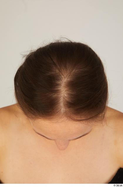 Head Hair Woman White Average Street photo references
