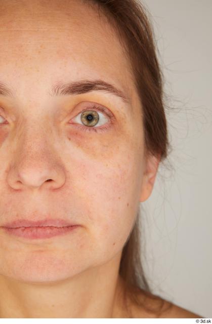 Eye Woman White Average Street photo references
