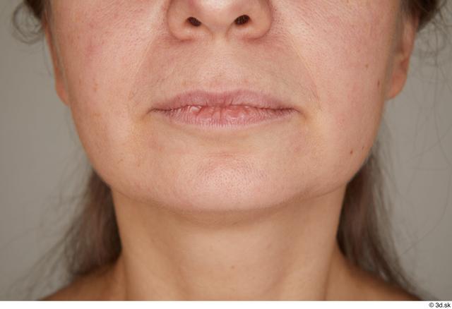 Mouth Woman White Average Street photo references