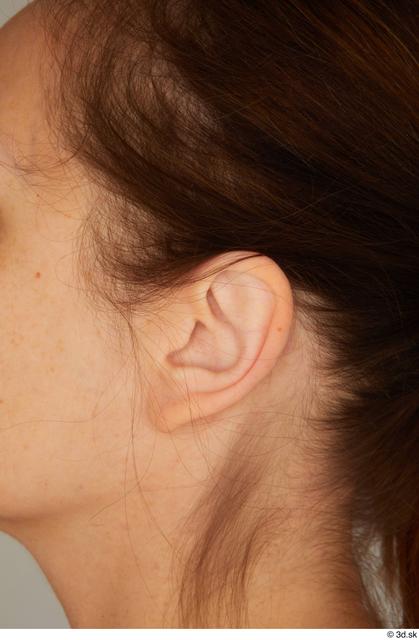 Ear Woman White Average Street photo references