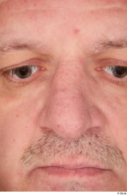 Face Nose Man White Casual Overweight Street photo references