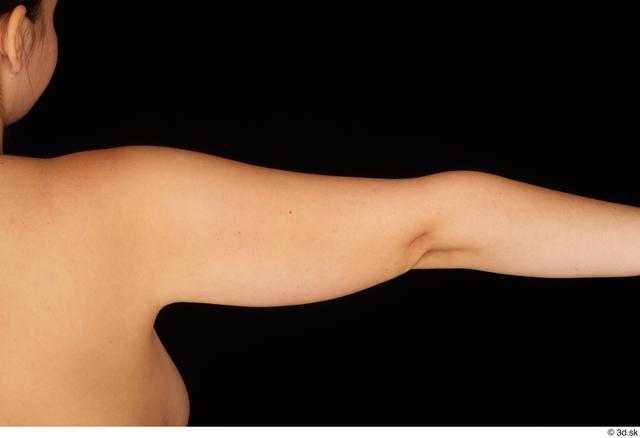 Arm Woman White Nude Chubby Studio photo references