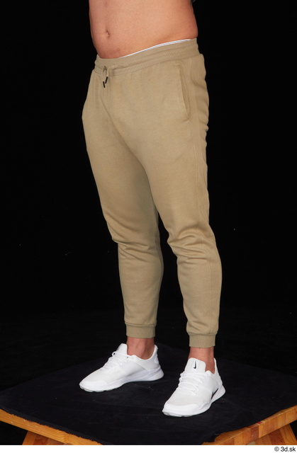 Leg Man White Sports Muscular Studio photo references