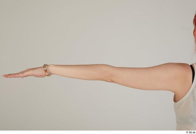 Arm Woman White Casual Slim Street photo references