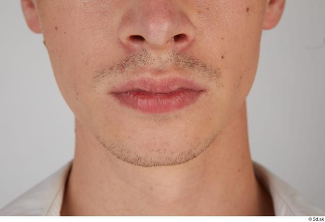 Mouth Man White Slim Street photo references