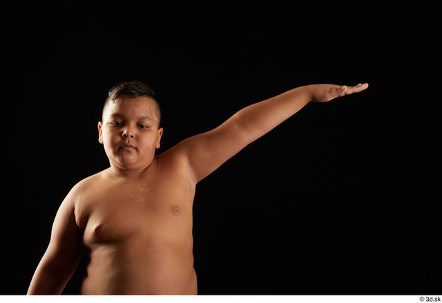 Arm Man White Underwear Overweight Studio photo references