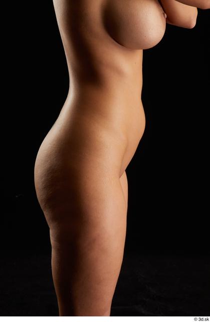 Hips Woman White Nude Slim Studio photo references