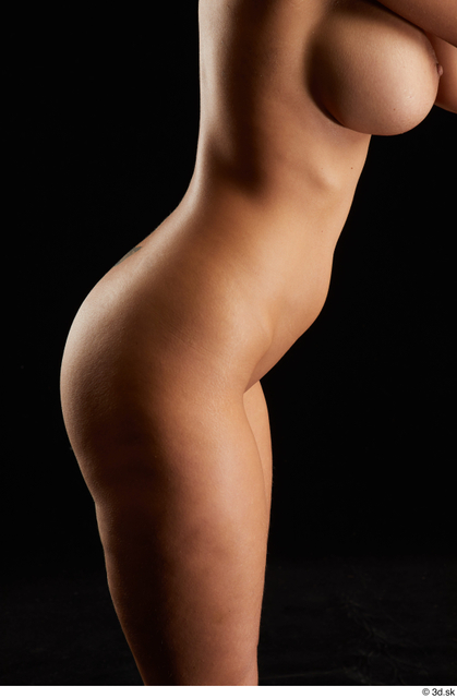 Hips Woman White Nude Slim Studio photo references