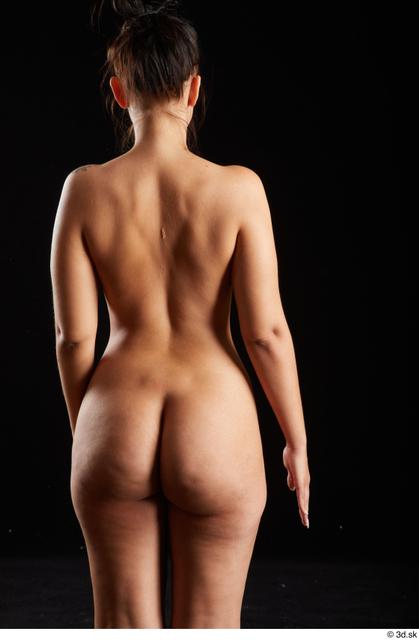 Arm Back Woman White Nude Average Studio photo references
