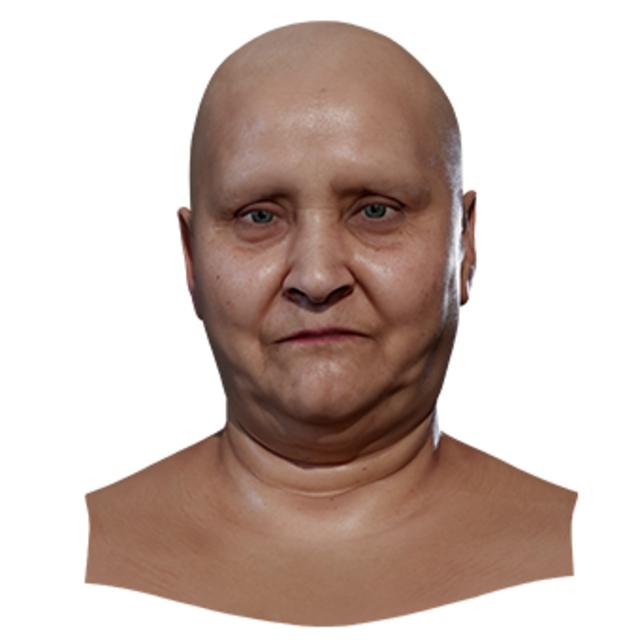 Retopologized 3D Head scan of Blanka