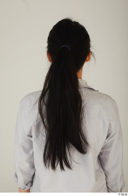 Head Hair Woman Asian Casual Slim Street photo references