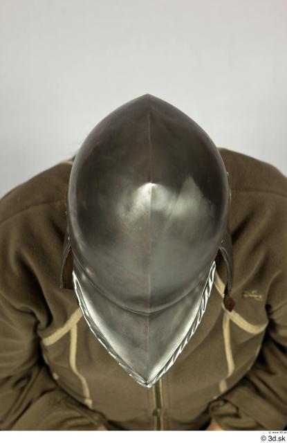 Head Woman White Historical Helmet Costume photo references