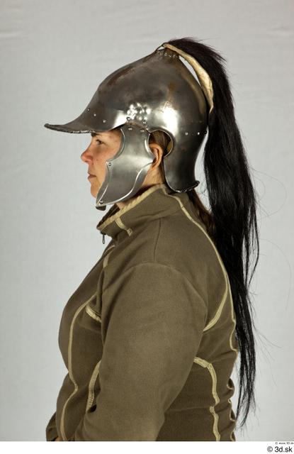 Head Woman White Helmet Costume photo references