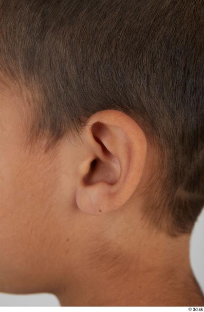Ear Man White Slim Street photo references