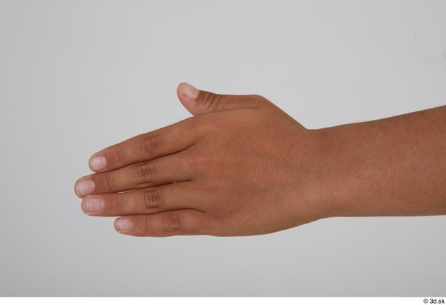 Hand Man White Slim Street photo references