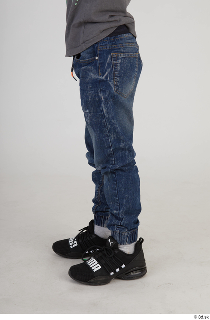 Leg Man White Slim Street photo references