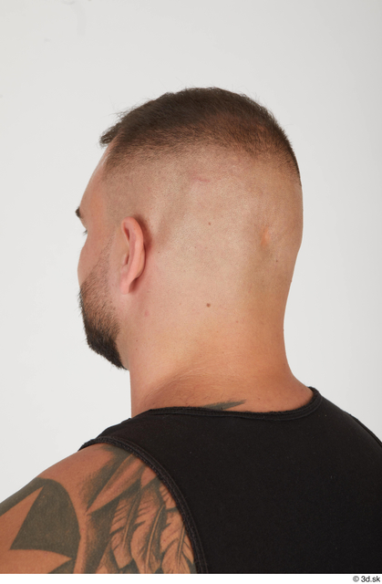 Head Hair Man White Muscular Street photo references